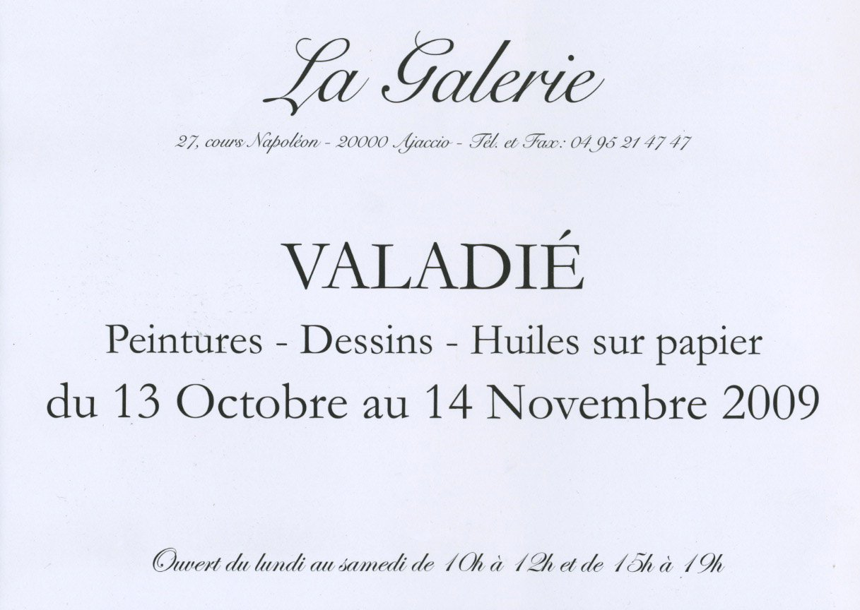 Valadi archive du blog octobre 2009 expositions venir for Chambre criminelle 13 octobre 2009